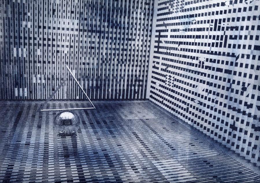 蓝晒/摄于蓬皮杜中心